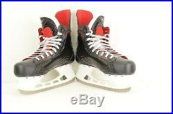 2017 Bauer Vapor X600 Ice Hockey Skates Senior Size 10.5 D (0116-B-X600-10.5D)