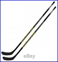 2 Pack BAUER Supreme 2S Team Season 2019 Ice Hockey Sticks Senior Flex