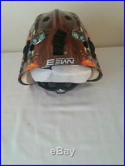 Bauer NME3 Star Wars Goalie Mask Ice Hockey Helmet Senior Boba Fett New SR