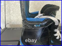 Bauer Nexus 1N Skates Senior size 8.5 Wide EE with Bauer Speed Plates Included