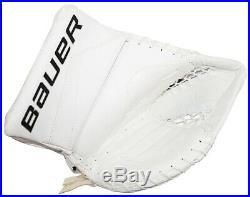 Bauer Reactor 5000 Sr Goalie Glove Mitt Senior Goal Ice Hockey White 2015