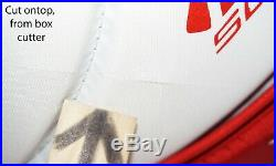 Bauer Reactor 5000 Sr Goalie Glove Mitt Senior Goal Ice Hockey White/red 2015