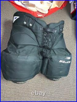Bauer Reactor 6 Senior Pro LARGE Ice Hockey Goalie Pants VINTAGE Made In Canada