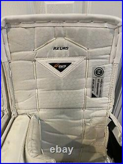 Bauer Supreme 1s OD1N Pro Stock Goalie Pads Sz Medium Toronto (Reimer) GAME USED