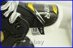 Bauer Supreme 3S Pro Senior Ice Hockey Skates 10 Fit 3 (Wide) (0909-0359)