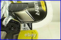 Bauer Supreme 3S Senior Ice Hockey Skates 8 Fit 1 (Narrow) (0416-2723)