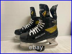 Bauer Supreme Ultra Sonic Mens Pro Stock Hockey Skates Size 7 8824