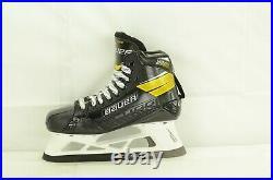 Bauer Supreme Ultrasonic Goalie Ice Hockey Skates Senior Size 7.5 D (1230-1643)