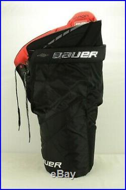 Bauer Vapor 1X Lite Ice Hockey Pants Senior Size Large Black (0316)