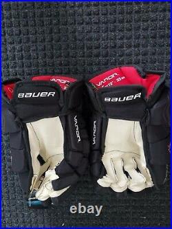 Bauer Vapor 1X Lite Pro Ice Hockey Gloves Black 13 senior
