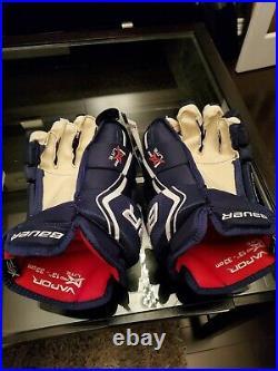 Bauer Vapor 1X Lite Pro Ice Hockey Gloves Navy 13 senior