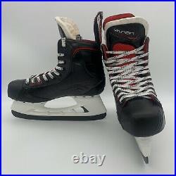 Bauer Vapor X600 Ice Hockey Skates Senior Skate Size 7.5D + Extra Runners EUC