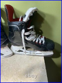 Bauer vapor X500 Mens senior Ice Hockey skates Sz 7.5 D Shoe Size 9
