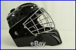 CCM Pro Ice Hockey Goal Mask Senior Size Small Black (6 3/4 7 1/4)