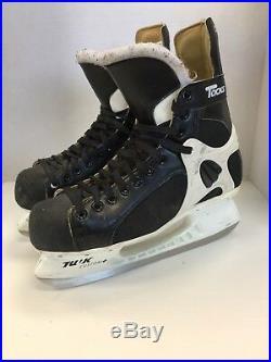 CCM Pro Tacks Custom Fit Vintage Hockey Skates sz 10 senior vtg rare ice hockey