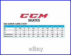 CCM Ribcor 50K Pump Ice Hockey Skates Size Senior, Professional Ice Skates Bra