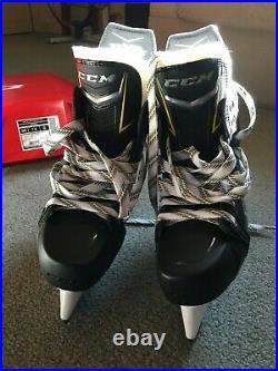 CCM Super Tacks AS1 Ice Hockey Skates Senior Size 7.5 D, Slightly used with box