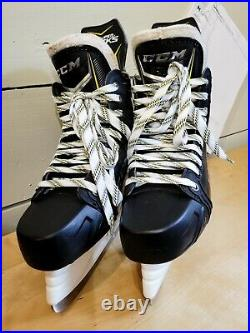 CCM Super Tacks AS1 Senior Ice Hockey Skates 7.5D TUUK Lightspeed Edge