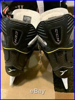 CCM Ultra Tacks Ice Hockey Skates Senior Size 8 Attackframe