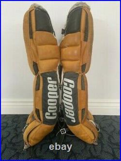COOPER 32 GP59L Goalie Senior Leg Pads Vintage