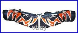 Eagle Infinity Senior Goalie Leg Pads Ice Hockey 36 Vintage Sr Goal Gear 2006
