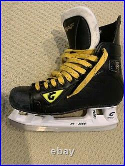 Graf Supra 703 Top Light Senior Ice Hockey Skates size 8.5 (Graf Sizing)
