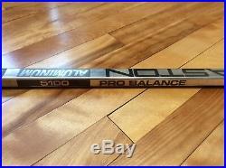 Gretzky easton aluminum Senior hockey stick unused nos with blade mint condition