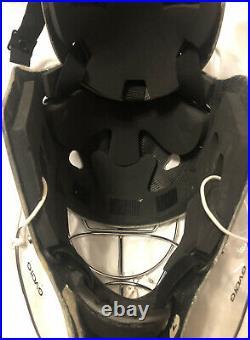 Hackva ice hockey goalie mask white senior and helmet bag