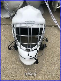 Ice hockey senior goalie equipment