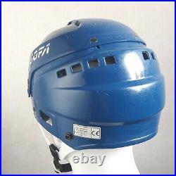 JOFA 297 Blue Hockey Helmet Senior Icehockey Oilers Rangers 366 pro style