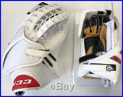 MISMATCH SPECIAL New Hockey Goalie Senior Blocker Catcher Set CCM/Reebok glove