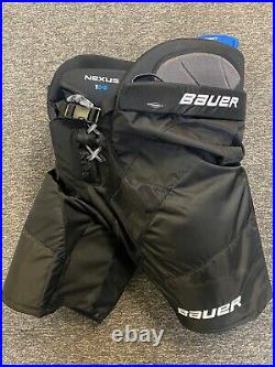 New! Bauer Nexus 1N Ice Hockey Pants Adult Senior Large Black