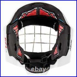 New CCM 1.9 Senior Ice Hockey Goalie Face Mask Medium Royal Blue Carbon helmet