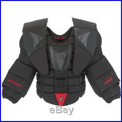New CCM AB Pro chest/arm protector size Sr Medium senior ice hockey goalie ABPRO
