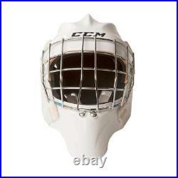 New CCM GFL Pro Senior Ice Hockey Goalie Face Mask Senior Small White helmet SR
