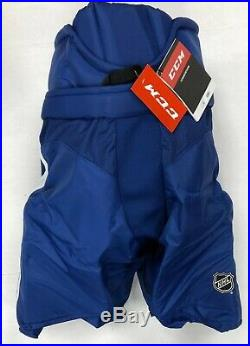 New CCM HP35 Toronto Maple Leafs Pro Stock/Return Hockey Pants Senior Small CX