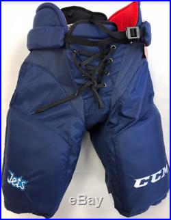 New CCM HP45X Winnipeg Jets Pro Stock/Return Ice Hockey Pants Senior XL+1 Navy