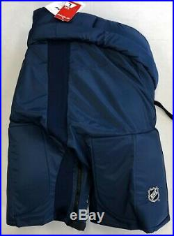 New CCM HP70 Pro NHL/AHL Stock/Return Hockey Pants Senior Large+2 Navy sr mens