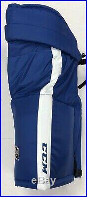 New CCM HP70 Toronto Maple Leafs Pro Stock/Return Hockey Pants Senior Large + 1