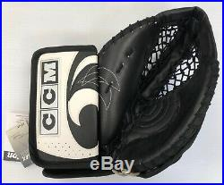 New CCM Heaton 6 Senior Ice Hockey Goalie Catcher Glove left hand LH vintage sr