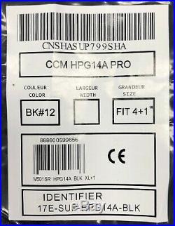New CCM Pro Stock ice hockey goalie pants black HPG14A Fit 3 senior XL 36 38 sr