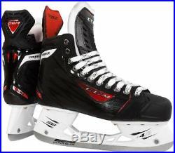 New CCM RBZ Vibe ice hockey skates senior size 11D black men mens adult skate sr