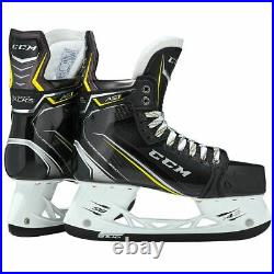 New CCM Super Tacks AS1 Ice Hockey Player Skates Senior 10 EE wide width skate