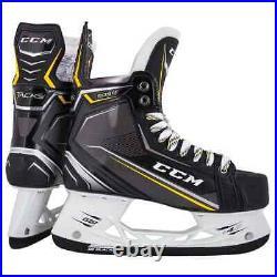 New CCM Tacks 9090 Ice Hockey Player Skates Senior 10 EE wide width skate SR