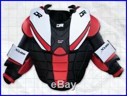 New DR X65 goalie chest protector and arm pad senior XL ice hockey Sr goal