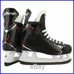 New Graf PK4400 PeakSpeed senior size 9.5 E wide skates men's Sr EE W ice hockey