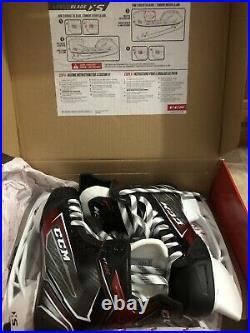 New In Box CCM JetSpeed Senior FT460 Ice Hockey Skates Size 9D