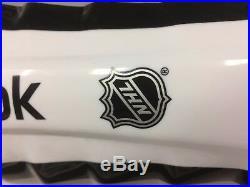 New Reebok 19K Pro Stock NHL shin guards 16 senior Sz size Sr ice hockey pads