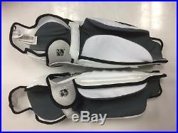 New Reebok 21K Pro Stock NHL shin guards 19 senior Sz size Sr ice hockey pads