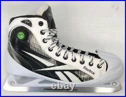 New Reebok 7k Hockey Goalie Skates Senior size 11.5D ice goal skate men pump